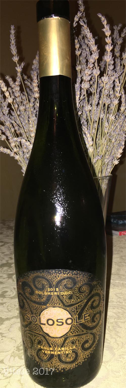 Bottiglia Solosole Pagus Camilla